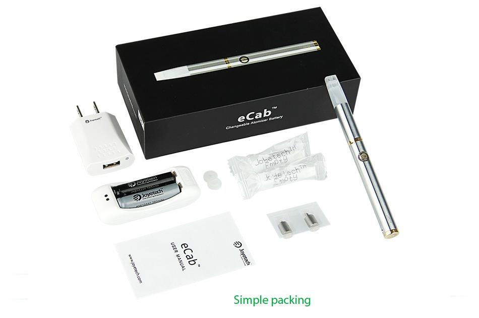 Joyetech eCab Starter Kit 720mAh e b Simple packing