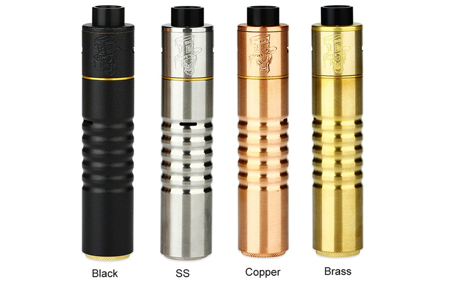 Advken Mad Hatter 24 MECH Kit Black Copper Brass