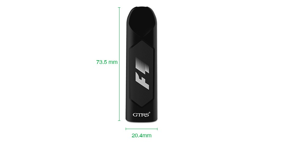 GTRS F1 Disposable Pod Device 3pcs 73 5mm GTRS 20 4mm