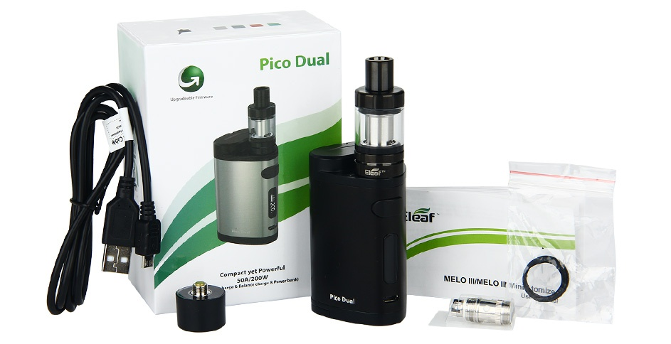 Eleaf Pico Dual 200W TC Full Kit Pico Dua M