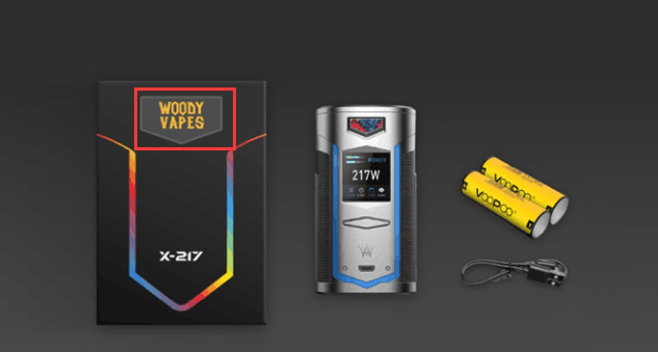 [Coming Soon] VOOPOO X217 TC Box MOD 7500mAh 217W X e17