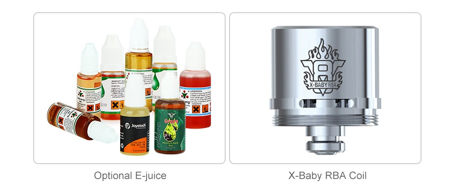 SMOK Stick X8 Kit 3000mAh x   D Optional E juice X Baby Rba coil