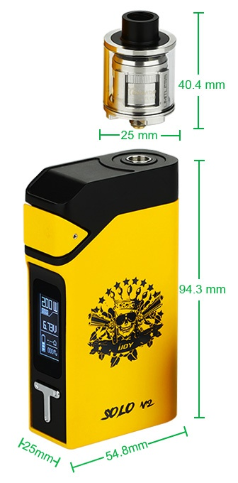 IJOY Solo V2 200W Starter Kit 40 4mm 25mm
