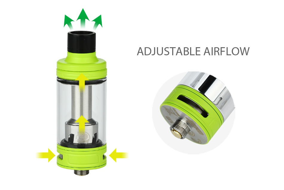 Eleaf iKonn Total with Ello Mini XL Full Kit 5.5ml ADJUSTABLE AIRFLOW