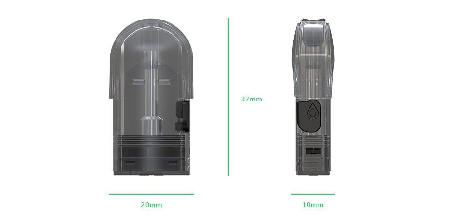 Eleaf Elven Pod Cartridge 1.6ml 4pcs 37 20mm 10mm